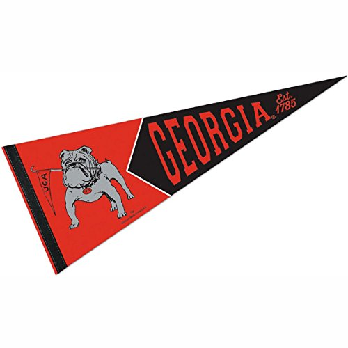 WinCraft Georgia Bulldogs Official NCAA 12 inch x 30 inch Premium Pennant 989963 by WinCraft