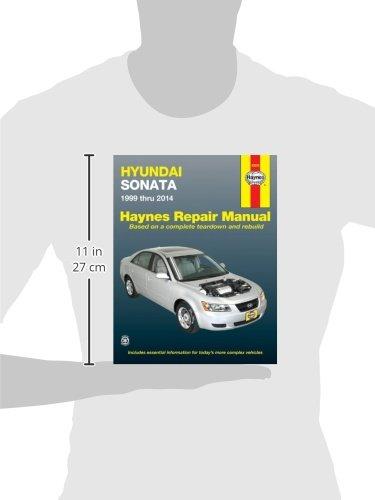 hyundai sonata 1999 thru 2014 automotive repair manual editors of rh amazon com 2009 Hyundai Sonata 2004 Hyundai Sonata