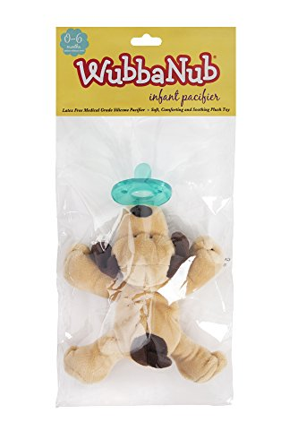 WubbaNub Infant Pacifier - Brown Puppy by WubbaNub (Image #3)