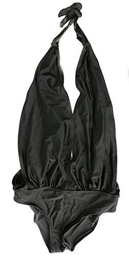 Vonfon Ladys One-piece Set Bikini Deep V-neck Teddy Convertible Wrap Swimwear