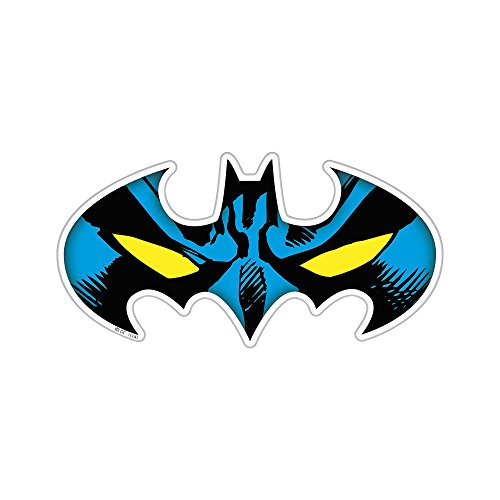 Fan Emblems Batman Mask Character Car Decal Domed/Multicolor/Clear, DC Comics Automotive Emblem Sticker Applies Easily to Cars, Trucks, Motorcycles, Laptops, Windows, Almost Anything ()