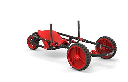 YBIKE Explorer Pedal Car - Kid Powered Go Kart - Blue/Black