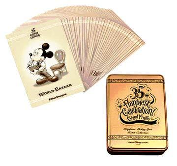 [해외]미키 35 주년 Happiest Celebration 추억을 담은 케이크 엽서 세트 기념품 도쿄 디즈니랜드 / Mickey 35th Anniversary Happiest Celebration Memories Stuffed Toy Postcard set souvenir Tokyo Disneyland