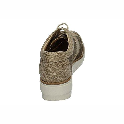 Femme Bella 464 Lacets à Ville de Modabella Chaussures Taupe 113 Moda Pour vtFdqwOd