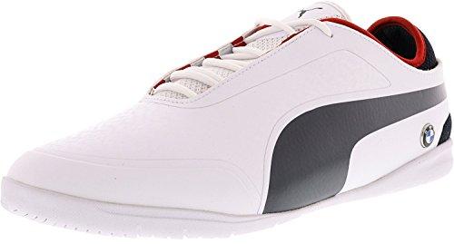 Puma Mens Bmw Motorsports Växlare 2 Ankel-high Fashion Sneaker Vit / Lag Blå / Hög Risk Röd