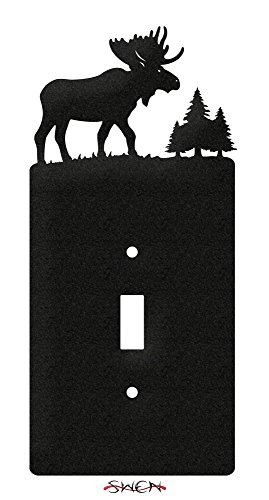 (SWEN Products MOOSE WILDLIFE Wall Plate Cover )