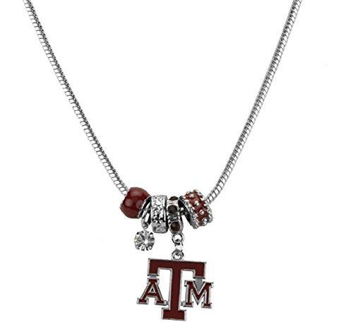 - Sports Team Accessories Texas A&M Aggies MVP Charm Necklace