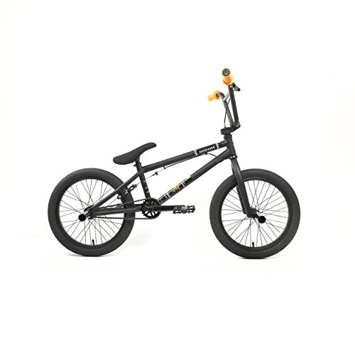 KHE Bikes Root 360 18 Freestyle BMX Bicycles, Black (Bmx 18 Inch Freestyle Bike)