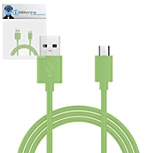 Green THIN USB 2.0 Micro USB to USB 2.0 SYNC & CHARGE Charging Tangle Proof Cable (1 Meter) For KangerTech EvoD Mega Express Kit