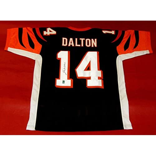 online store c1db5 b7ba4 low-cost Signed Andy Dalton Jersey - Hologram - Autographed ...