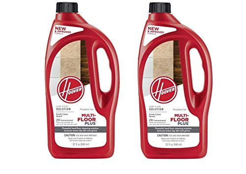 (Hoover Multi-FLOORPLUS 2X Concentrated 32 Oz Hard Floor Cleaner Solution - AH30425 (Pack of 2)  )