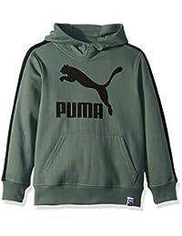 PUMA Boys Boys' Fleece Pullover Hoodie Hooded Sweatshirt