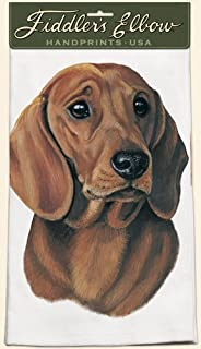 product image for Fiddler's Elbow Dachshund Kitchen Towel