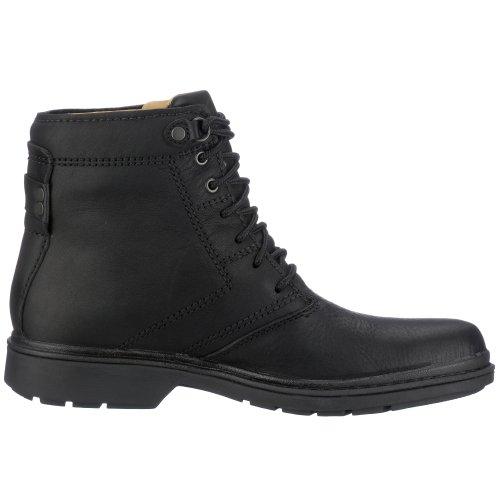 Clarks Rockie Co GTX 20318462, Stivali uomo Nero (Black Waterproof)