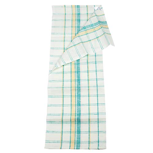 Linen Kitchen Towels - 2-Pack - Pure European Flax - 20x28 - White