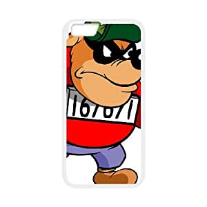 iPhone 6 Plus 5.5 Inch Cell Phone Case White DuckTales Character Babyface Beagle