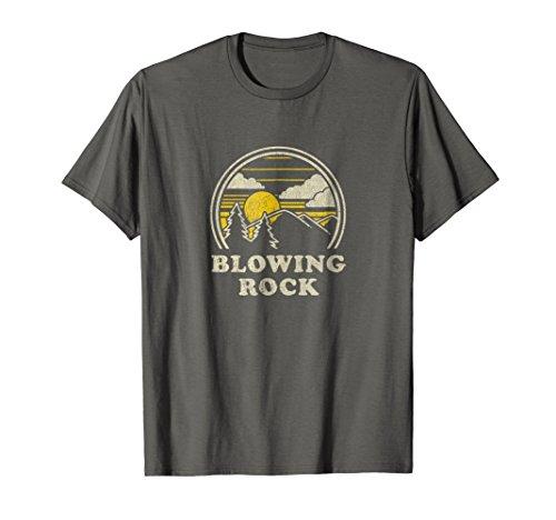 - Blowing Rock North Carolina NC T Shirt Vintage Hiking Tee