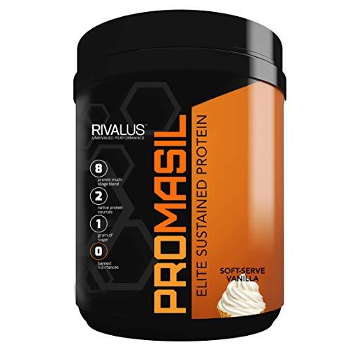 Rivalus Promasil Soft Serve Vanilla, 1 Pound
