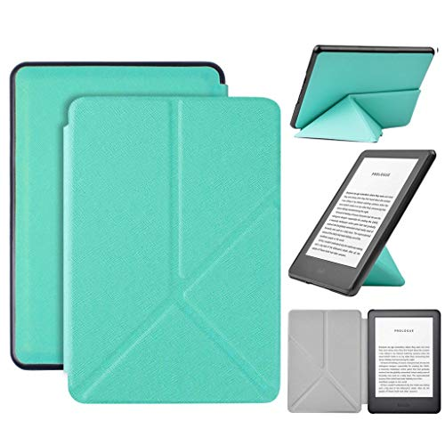 Kindle Paperwhite Leather Case, Lyperkin Slim Flip Stand Cover Case for Amazon All-NEWKindle 10th Gen 2019, 6inch