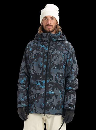 - Burton Men's Men's Ak Gore-tex Swash Jacket, Slate Shelter Camo, Small