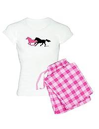 CafePress - Horses - Womens Novelty Cotton Pajama Set, Comfortable PJ Sleepwear