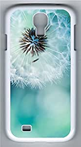 Samsung Galaxy S4 I9500 White Hard Case - Dandelion 1 Galaxy S4 Cases