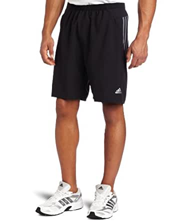adidas Men's Response 9- Inch Baggy Short , Black/ Lead, X-Large