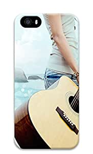 iPhone 5s Cases & Covers - Youth Music Guitar PC Custom Soft Case Cover Protector for iPhone 5s