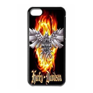 iPhone 5c Cell Phone Case Black Harley Davidson sxcf