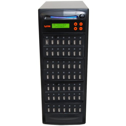 Systor 1 to 48 Multiple USB Thumb Drive Duplicator / USB Flash Card Copier (USBD-48) by Systor Systems
