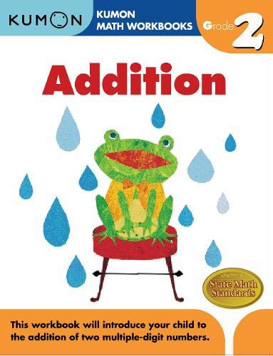 Grade 2 Addition (Kumon Math Workbooks) (A And An Worksheets For Grade 2)