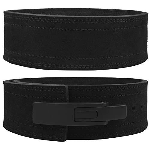 Lever Belt 10mm Powerlifting Belt for Men & Women Power Weight Lifting Buckle Weightlifting Belts
