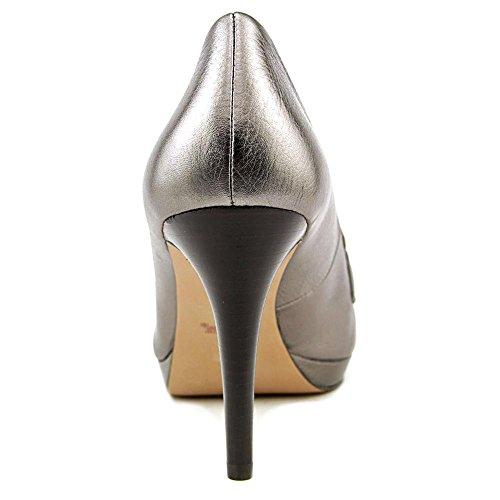 Tacco Piattaforma Argento Da Donna