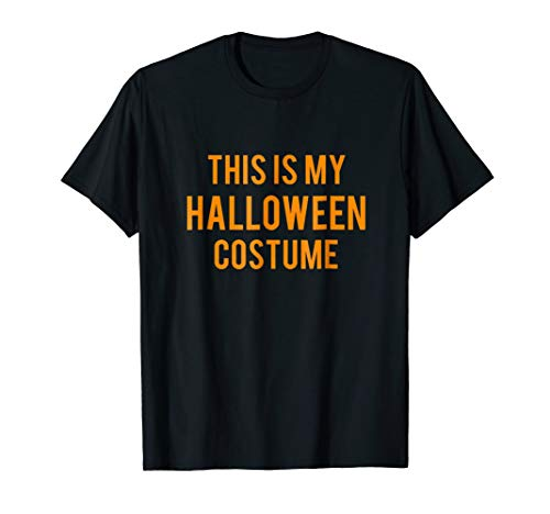 (OFFICIAL This Is My Halloween Costume T-Shirt Kids Men)