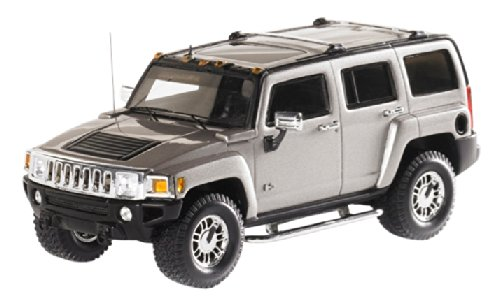 [LUXURY COLLECTIBLES] 1/43 Hummer H3 2006 Boulder grau Metallic (japan import)