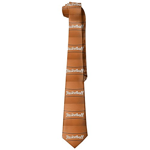 Basketball Tie Nba (Shadidi Mens Basketball Sport Nba Printing Tie Necktie)