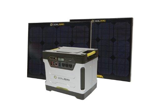 Goal Zero 39004 Yeti 1250 Silver/Black XX-Large Solar Generator Kit Best Selling Solar Panels And Equipment Goal Zero