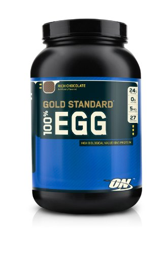 Optimum Nutrition protéines d'oeuf 100%, Delicious Vanilla Custard, 2 Pound