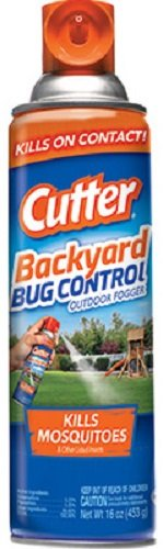 Cutter HG-95704 16 oz Bug Free Backyard Outdoor Fogger - Quantity 4 by Cutter