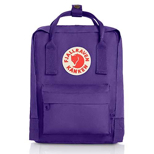- Fjallraven - Kanken Mini Classic Backpack for Everyday, Purple