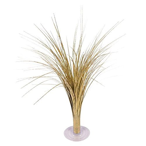NST Party Table Centerpiece Fountain Gold Holographic 18
