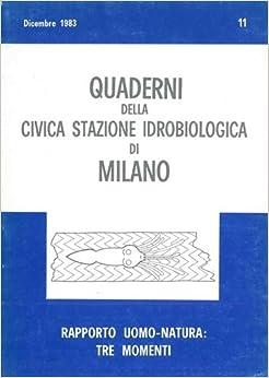 Book Rapporto uomo-natura: tre momenti.