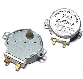 Microwa CW/CCW Horno de Onda de CA para microondas con Micro ...