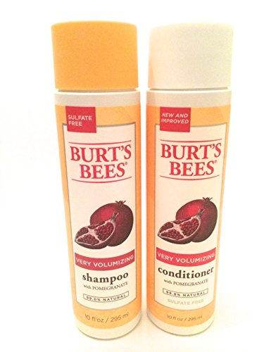 Burt's Bees Pomegranate Very Volumizing Shampoo and Conditioner Combo