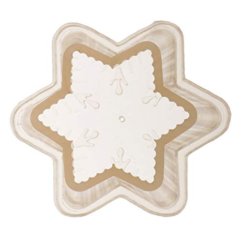 - Prettyia High Temperature Resistance Candle Mold Mould Special 3D Snowflake Designs for Candle Making Soap Crafts Great for DIY Floating Candles Crafts Tool