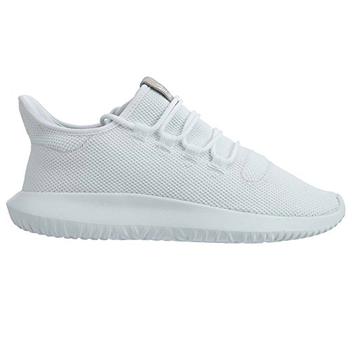adidas Originals Men's Tubular Dusk Running Shoe, White/Black/White, 12 D(M) US