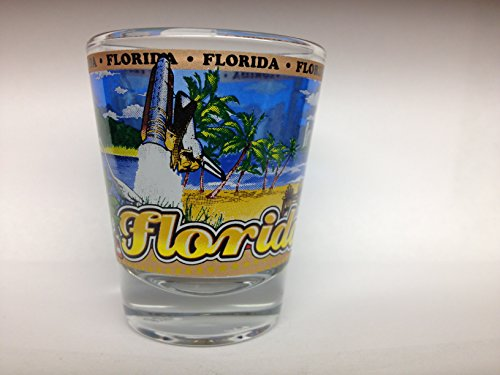 Florida State Wraparound Shot Glass