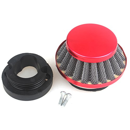 Stroke Super Mini Pocket Bike (Wingsmoto 42mm Air Filter 47cc 49cc 2 Stroke Super Pocket Bike Upgrade Kit Mini Dirt Bike ATV Quad Aluminium Air Filter Set)