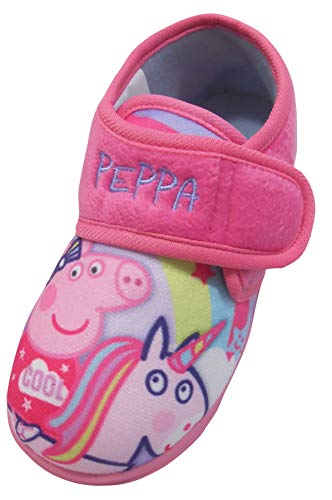 Slippers Pig Peppa - Peppa Pig Cool Girls Slippers Infants Size 9 Pink