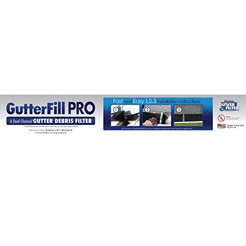 Filtration Pro (Product of GutterFill Pro Gutter Filtration System - Safety Equipment & Gear [Bulk Savings])